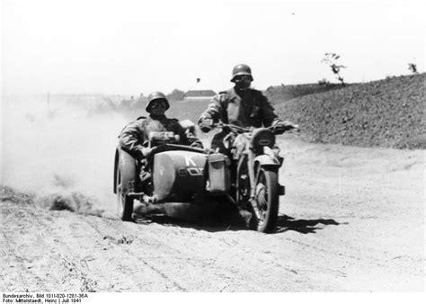 Motorrad Mit Beiwagen Russland by File Bundesarchiv Bild 101i 020 1281 36a Russland S 252 D