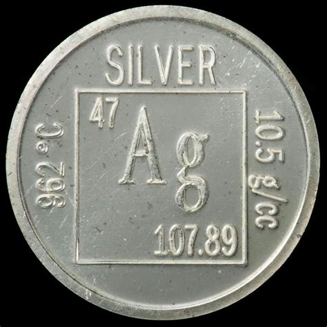element coin a sle of the element silver in the