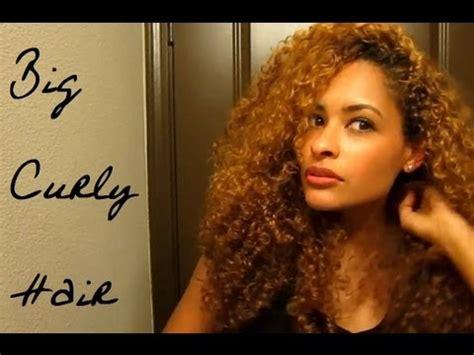 how do i cut long mixed hair big curly hair youtube
