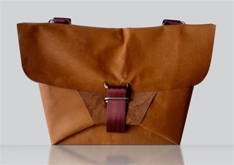 Suitcase Origami - tree theory bags origami styled bags that minimize waste