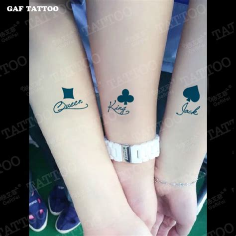 tattoo prices queens ny galefi king and queen tattoo stickers men and women