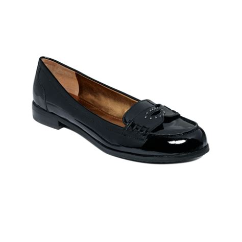 black loafer flats tracy relay loafer flats in black black