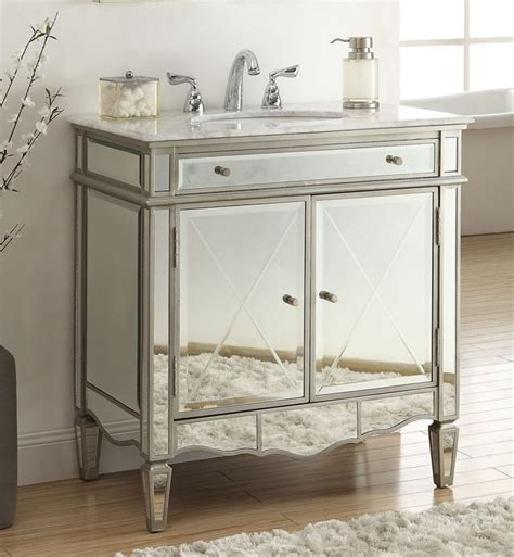 mirrored vanity bathroom ashmont 32 inch vanity q744 911