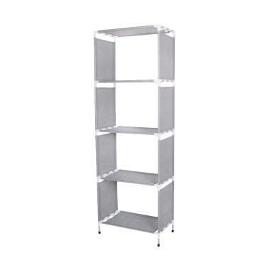 Rak Buku Aluminium jual tokolinggaucom portable aluminium rak buku serbaguna