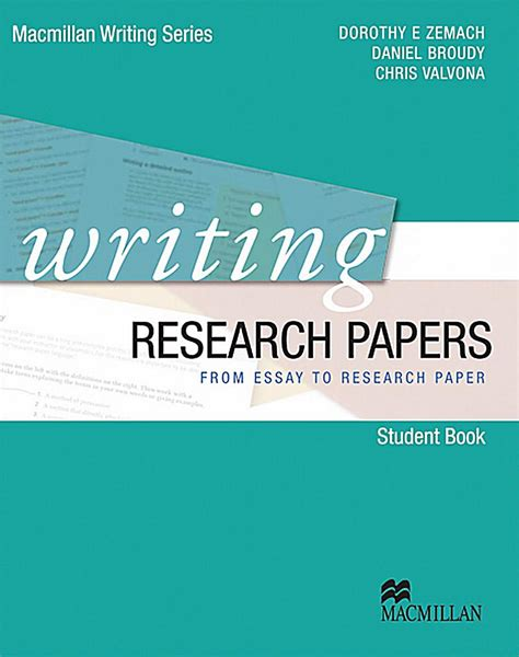 how to write a paper on a book writing research papers student s book buch portofrei