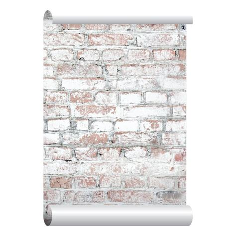 self adhesive removable wallpaper stone wallpaper peel and white washed brick wallpaper self adhesive peel and