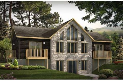 Lakefront House Plans With Walkout Basement House Plans Lakefront Walkout Basement House Design Plans