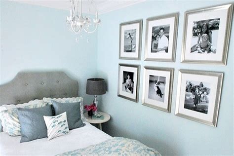 bedroom wall decorating ideas picture frames