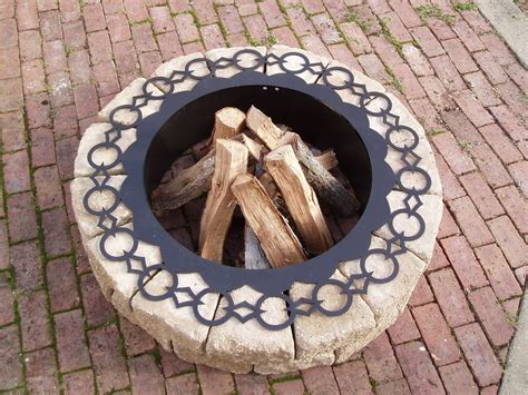 pit ring ideas 35 metal pit designs and outdoor setting ideas