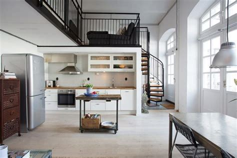 small lofts nordic meets industrial in a small loft