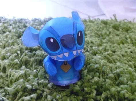 Stitch Papercraft - papercraft 3 stitch by heelenc on deviantart