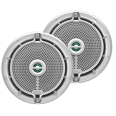 Speaker Acr Ring infinity 652m 6 5 quot 2 way speakers 225w pair white