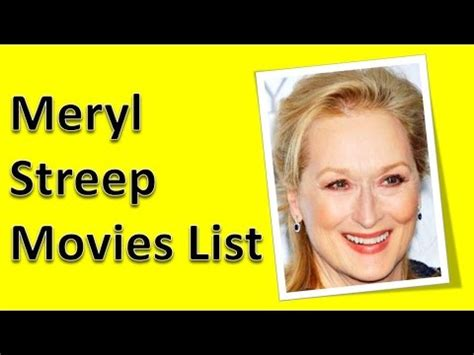 meryl streep movies meryl streep movies list youtube