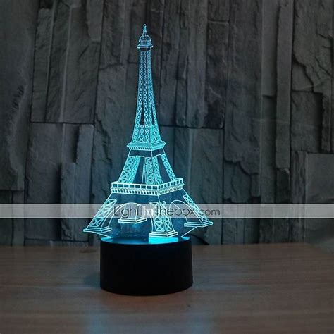 Eiffel Tower Table Decorations by The Eiffel Tower 3 D Illusion Table Decoration Led L As A Gift 5070397 2016 17 99