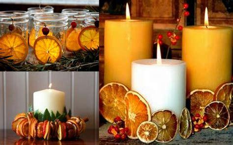 immagini candele natale decorazioni decorazioni di natale con le arance