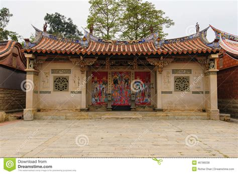 traditional chinese house traditional chinese style house in taiwan stock photo image 46786038