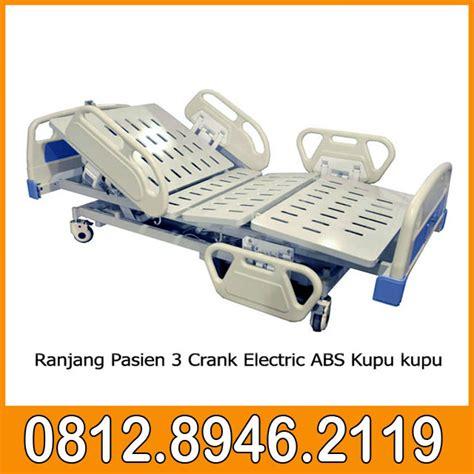 Ranjang Pasien Elektrik ranjang pasien 3 crank elektric abs kupu kupu