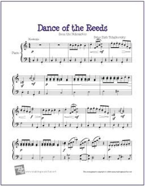 keyboard tutorial nutcracker dance of the reeds nutcracker free sheet music for