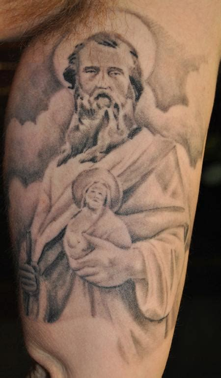saint jude tattoo st jude by george scharfenberg tattoonow