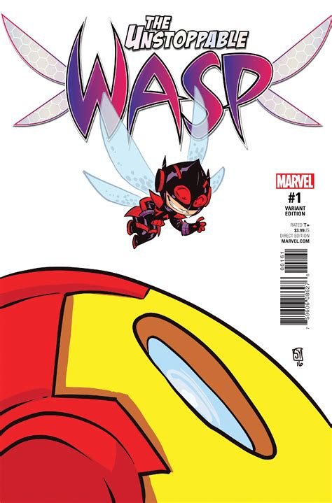 unstoppable arsenal metal books preview unstoppable wasp 1 comic vine