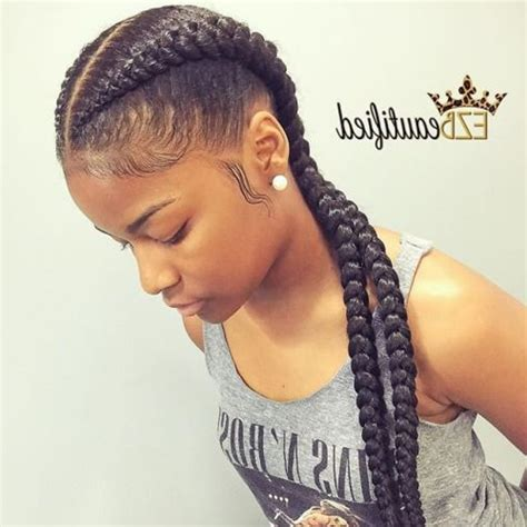 2 Braids Hairstyles by 2 Braids Hairstyles Best 25 Two Cornrow Braids Ideas