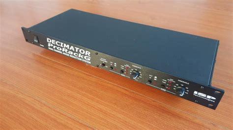Isp Rack Decimator by Isp Decimator Pro Rack G Reverb