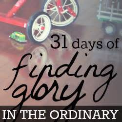 finding in the ordinary 31 days of finding in the ordinary write31days