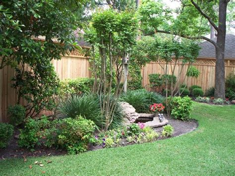 backyard houston landscaping ideas for fences landscaping along privacy