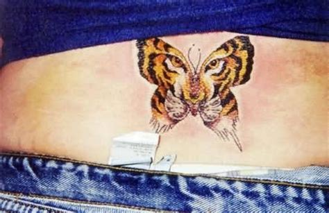 tattoo butterfly tiger face butterfly tattoos page 128
