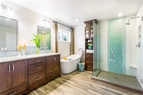 Spa Bath And Shower maximum home value bathroom projects tub and shower hgtv