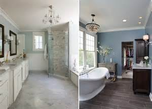 stylische badezimmer bathroom color ideas valspar paint tiles shower