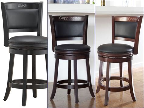 bar chairs for kitchen island counter height bar stool wood kitchen office swivel stool