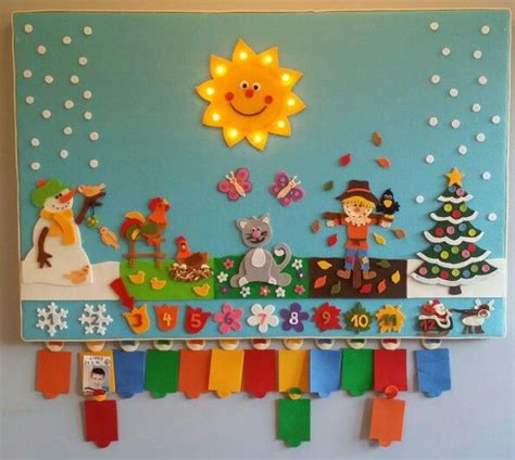 Geburtstagskalender Im Kindergarten Basteln die besten 25 geburtstagskalender kindergarten ideen auf