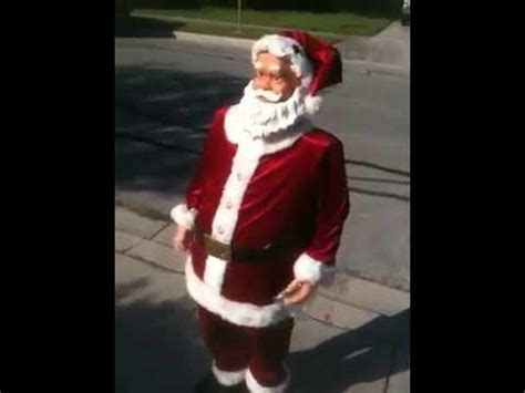 4 foot santas 5 foot singing santa claus