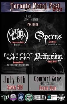 toronto comfort zone toronto metal fest july 6 2013 the comfort zone