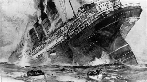 ww1 sinking of the lusitania service witness the sinking of the lusitania
