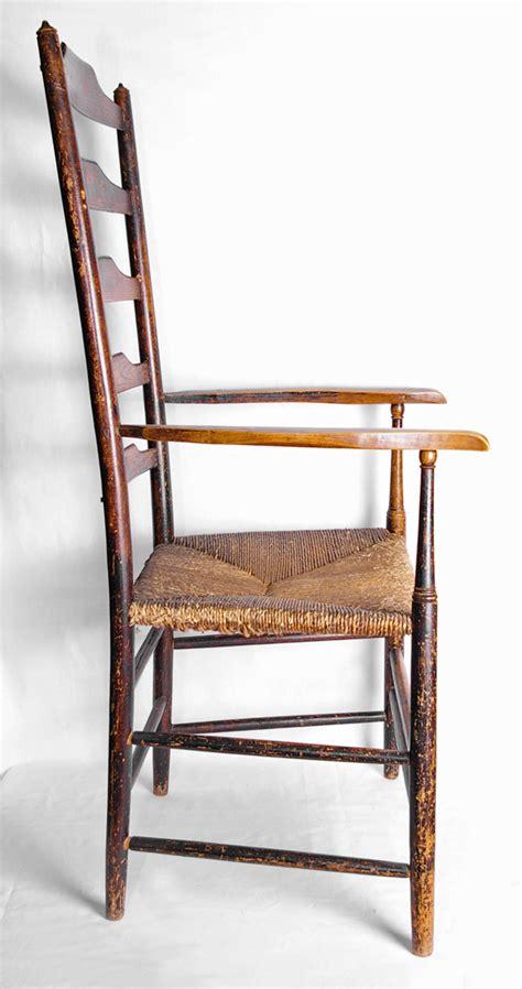 rung of a chair 5 rung ladderback chair by clissett ernest gimson and