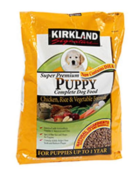 kirkland grain free food kirkland signature puppy formula chicken review