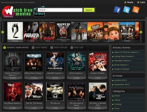 theme exles of movies website watch free movies us created using wordpress theme
