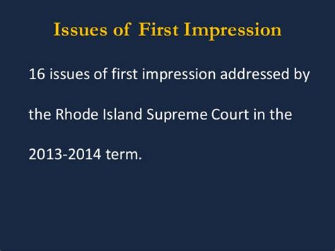Ri Judiciary Court Records Recent Developments In Rhode Island 2014 State Courts And Civil