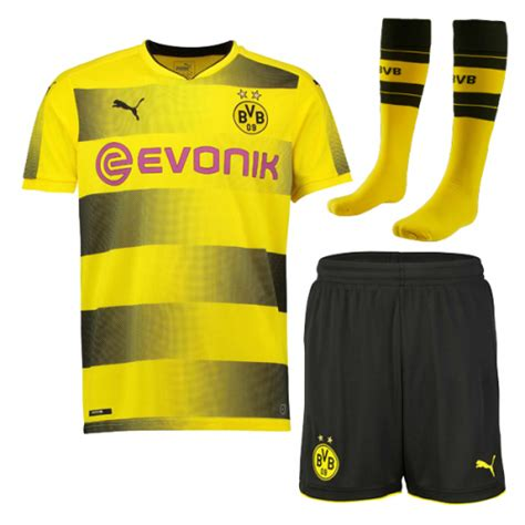 Sale Jersey Bola Borussia Dortmund Home Official 17 18 Grade Ori 17 18 borussia dortmund home jersey whole kit shirt