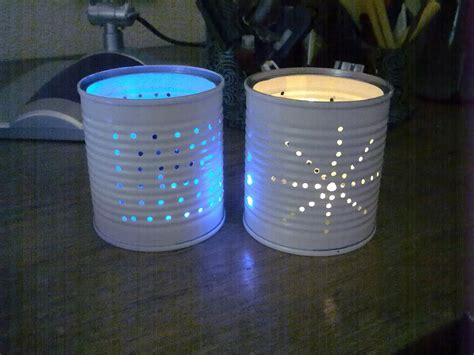 ideas con latas de dulce ideas de iluminaci 243 n de navidad a base de manualidades flota