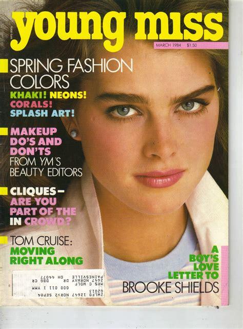 Miss Ym shields ym miss magazine 3 84 tom cruise shields magazines and toms
