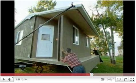 portable and foldable tiny house 12160 social network