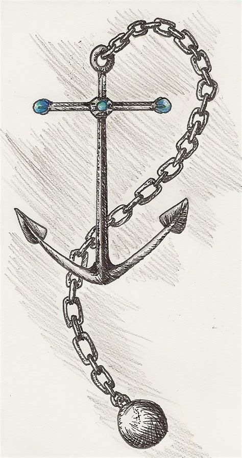 chains tattoo designs awesome anchor n chain design tattooshunt