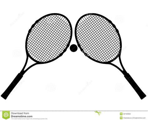 Promo Raket Tenis Silhouetee tennis silhouette stock images image 22132084