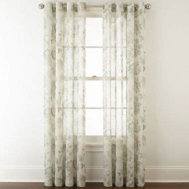 curtains jcpenney home store 1000 ideas about sheer curtain panels on pinterest