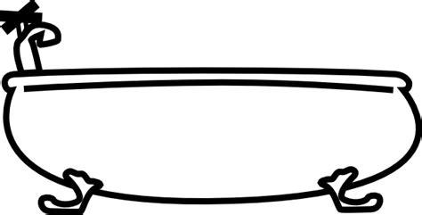 Bathtub Clipart Free by Bathtub Clip At Clker Vector Clip