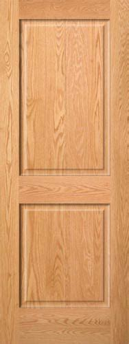 Red Oak 2 Panel Wood Interior Doors Homestead Doors 2 Panel Wood Interior Doors