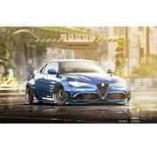 Alfa Romeo Giulia Loses Two Doors Gains Wide Body Kit